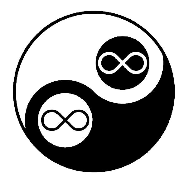 yin yang infinito